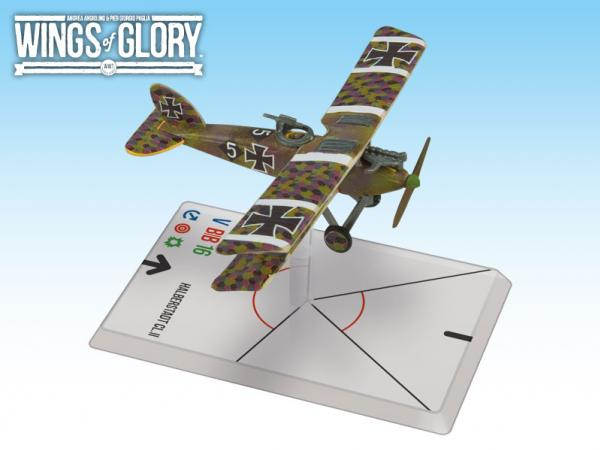 Wings Of Glory WWI Miniatures: Halberstadt CL.II (Schlachtstaffel 23b)