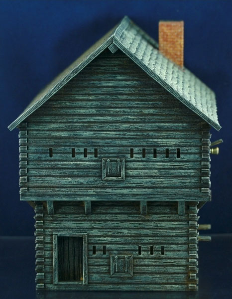 Michigan Toy Soldier Company Fredericus Rex Log Timber Blockhouse