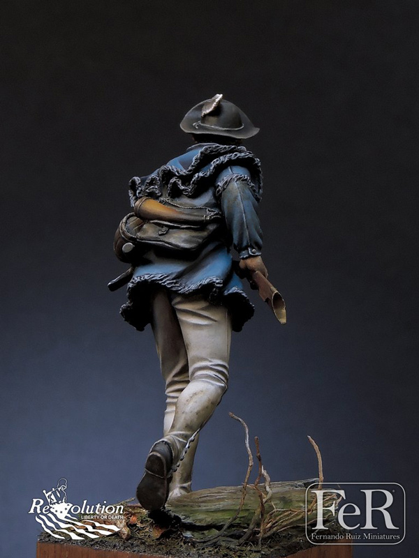 Michigan Toy Soldier Company : FeR Miniatures - Morgans Riflemen