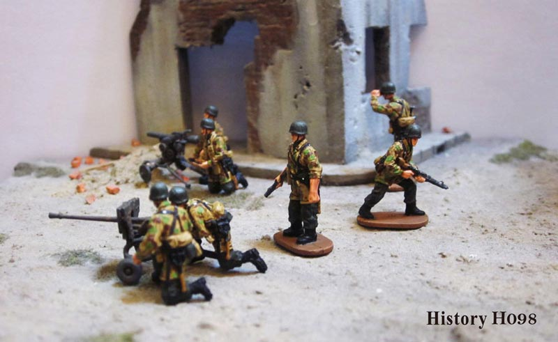 Michigan Toy Soldier Company : Caesar Miniatures - WWII German