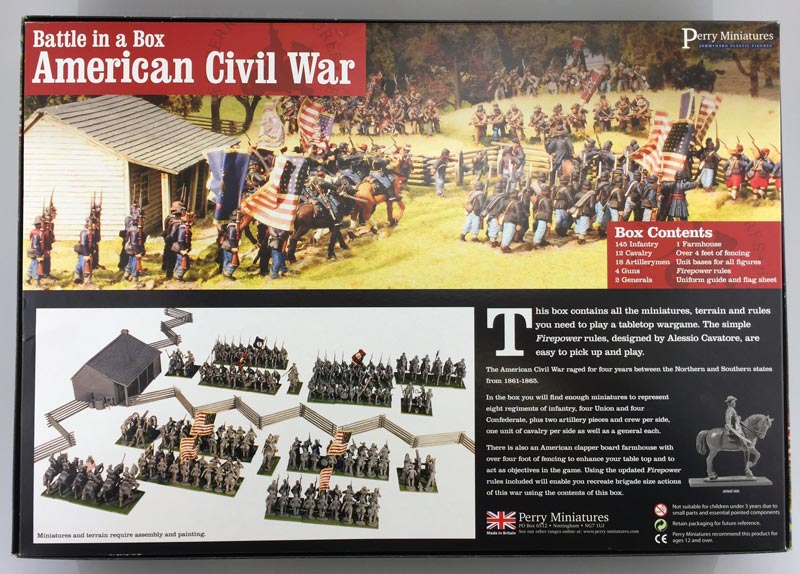 Michigan Toy Soldier Company : Perry Miniatures - American Civil War