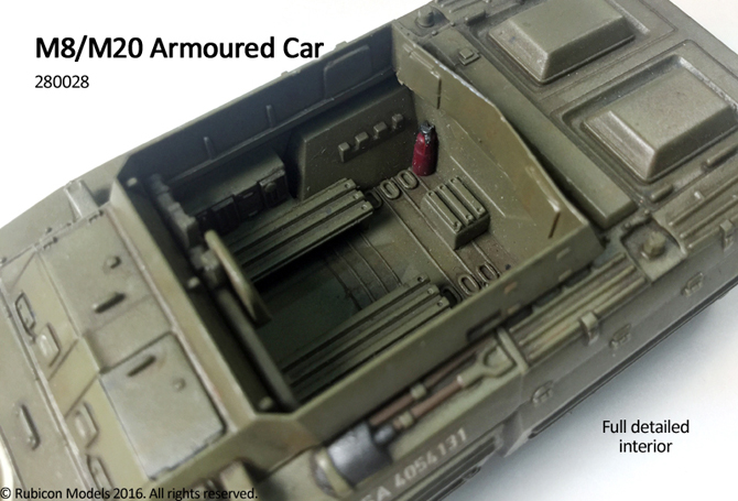 michigan toy soldier company rubicon models wwii us m8 m20 armoured car. Black Bedroom Furniture Sets. Home Design Ideas