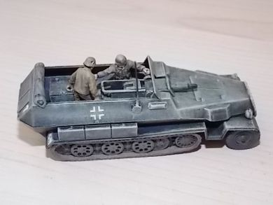 Michigan Toy Soldier Company Armourfast Wwii German Sdkfz 251