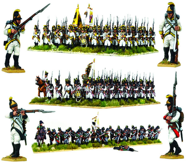 Backpack /& Musket 1x Napoleonic LEGO Austrian Infantryman 1809 and Helmet